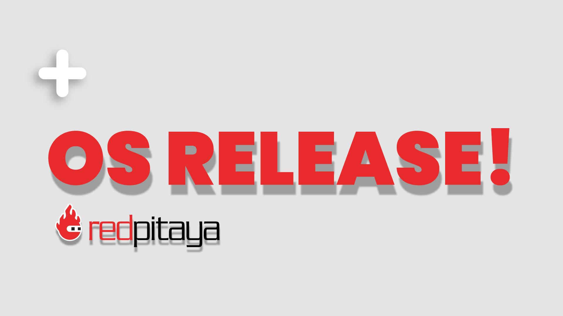 New Red Pitaya Beta OS v1.04-11