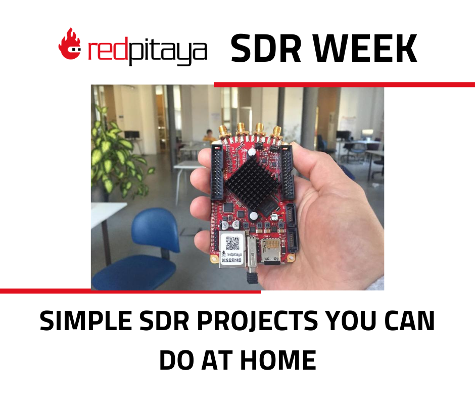 Simple SDR projects you can do at home