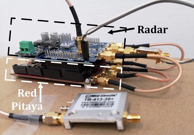 Building a ground penetrating radar for drones with Red Pitaya